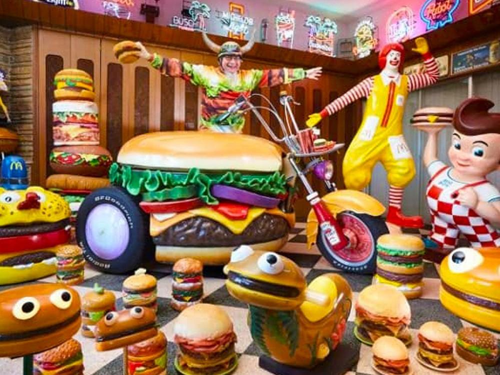 burger motorcycle