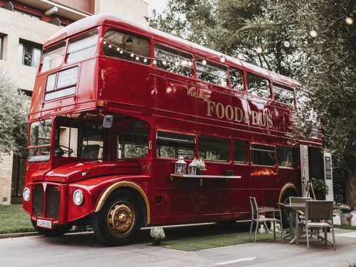 Food-Truck Autobús Inglés
