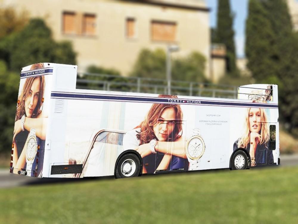 convertible bus