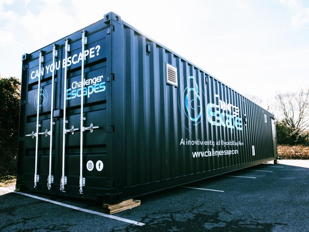 escape room container