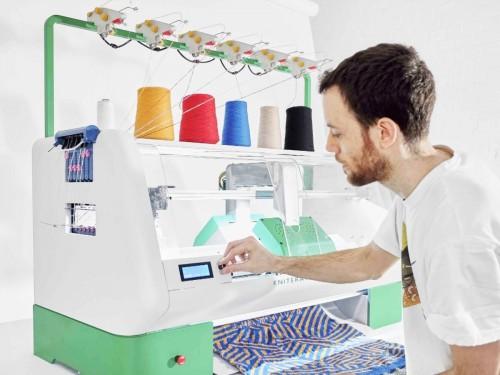 máquina de grabado en ropa