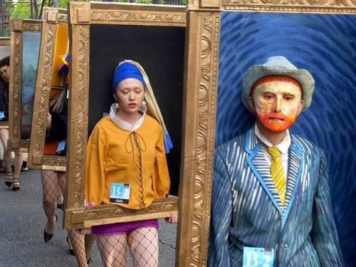 exposición cuadros famosos