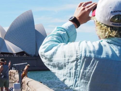 turista infiltrado