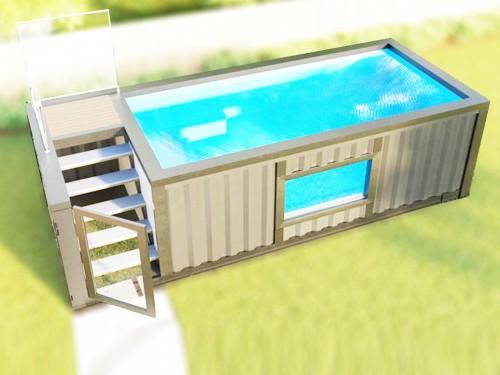 container piscina