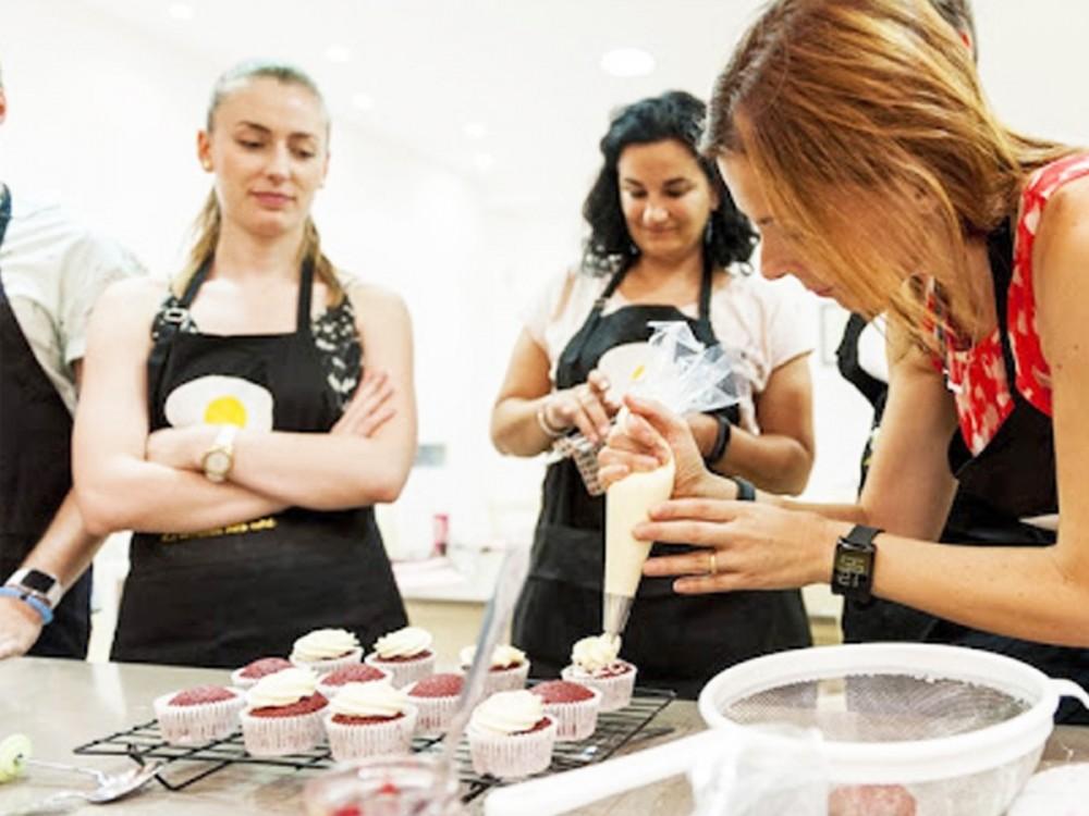 taller de cup cakes