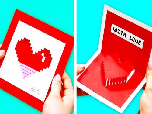 taller tarjetas de san valentín