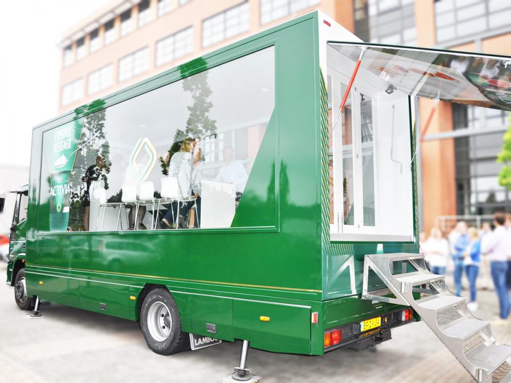 transparent truck